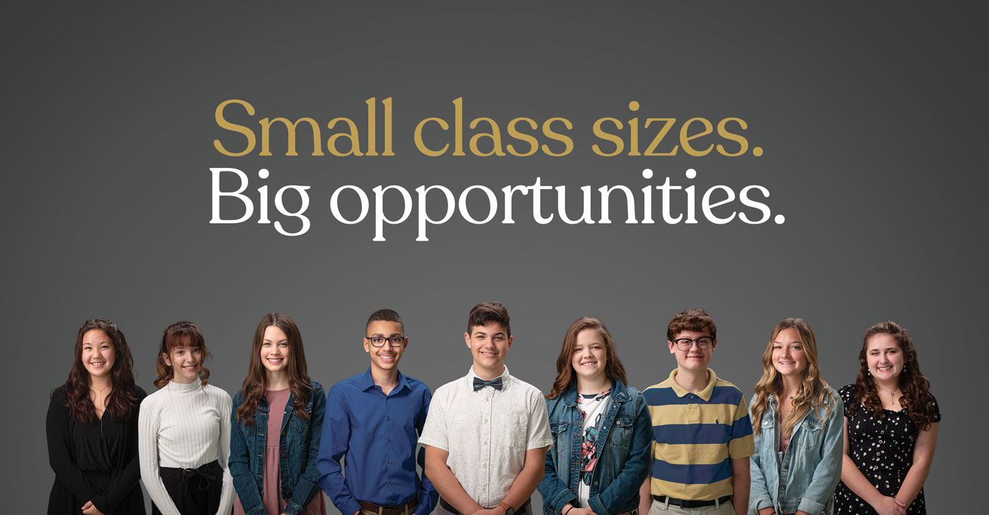 GCA - Small Class Sizes. Big Opportunities.